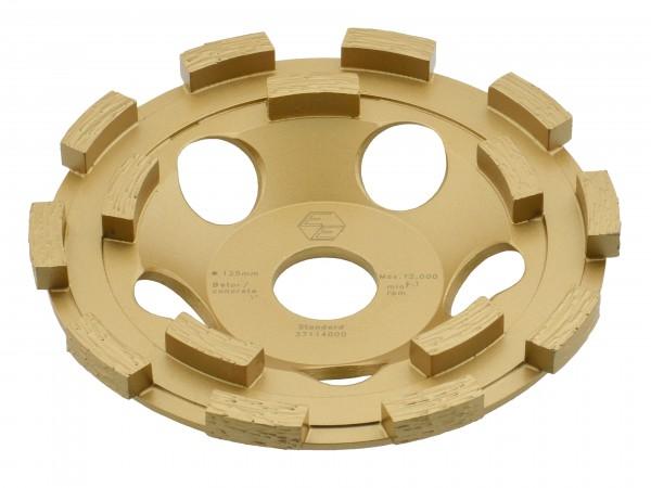 Eibenstock Schleifteller 125mm Gold 37114000