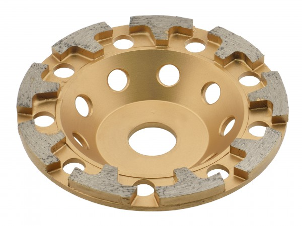 TRONGAARD PREMIUM DIAMANT SCHLEIFTELLER / SCHLEIFTOPF 125MM / 26mm