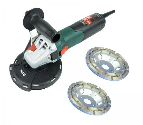 METABO / TRONGAARD SANIERUNGSSET / SANIERUNGSFRÄSE-SET / BETONSCHLEIFER-SET 125MM