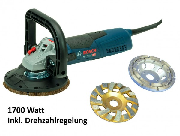 BOSCH / TRONGAARD BETONSCHLEIFER-SET SANIERUNGSSCHLEIFER-KOMBINATION 125MM