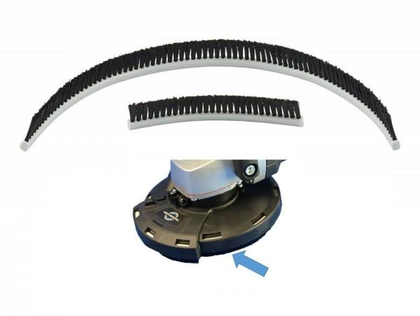 TRONGAARD Ersatz- Bürstenkranz passend für Absaughaube 125mm 2-tlg