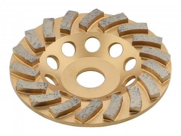 TRONGAARD PREMIUM DIAMANT SCHLEIFTELLER / SCHLEIFTOPF 125MM / 22mm