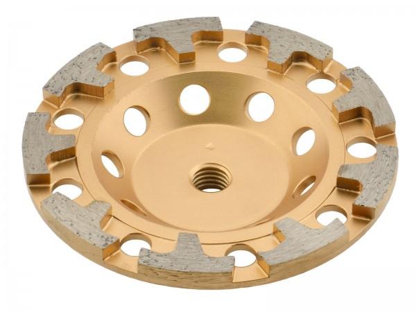 TRONGAARD PREMIUM DIAMANT SCHLEIFTELLER / SCHLEIFTOPF 125MM / 26mm BETON