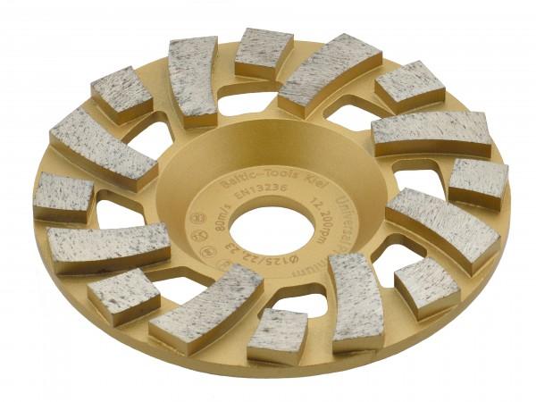 TRONGAARD PREMIUM DIAMANT SCHLEIFTELLER / SCHLEIFTOPF 125MM / 19mm