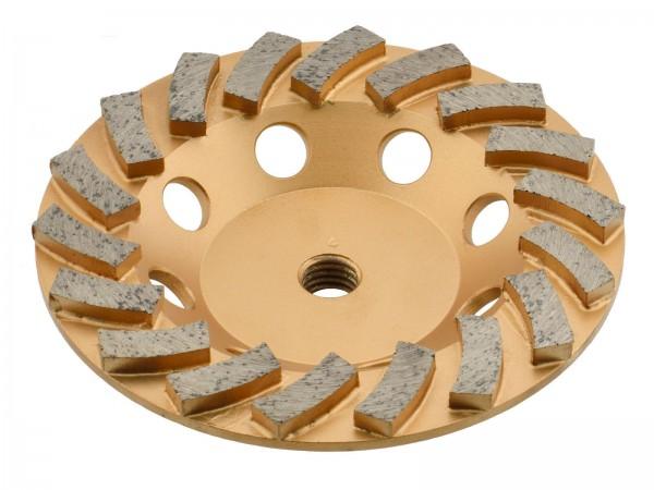 TRONGAARD PREMIUM DIAMANT SCHLEIFTELLER / SCHLEIFTOPF 125MM / mm BETON