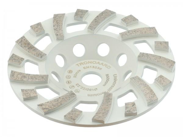 TRONGAARD PREMIUM DIAMANT SCHLEIFTELLER / SCHLEIFTOPF 180MM / 30mm BETON