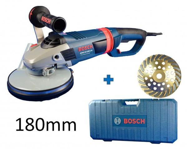 BOSCH / TRONGAARD BETONSCHLEIFER-SET ESTRICHSCHLEIFER-SET 180MM 2400W