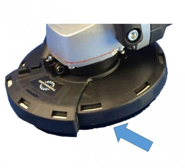 Bürstenkranz 2-tlg für TRONGAARD Absaugvorrichtung 125mm