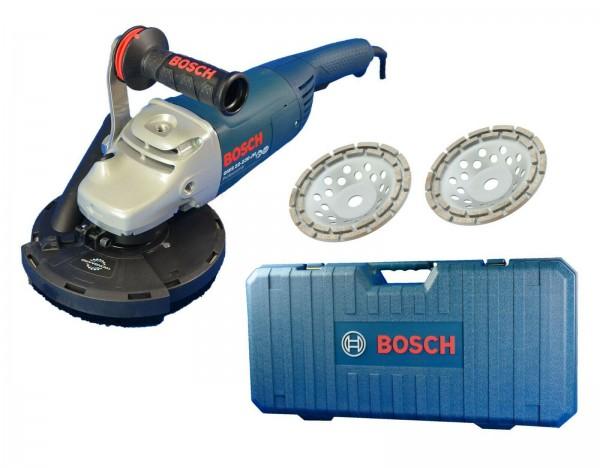 BOSCH / TRONGAARD BETONSCHLEIFER-SET / ESTRICHSCHLEIFER-KOMBINATION 180mm